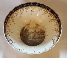Chamberlains Wocester  Warwick Castle vintage pre Victorian antique large bowl