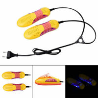 Electric Shoe Dryer Boot Odor Deodorant Dehumidify Warmer Heater Machine EU Plug