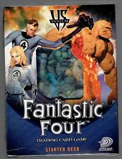 Fantastic Four Trading Card Game Starter Deck - VS System 2005