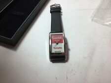 """Vintage ACME Studio """"Campbell's Soup"""" Andy Warhol Curvex Style Watch"""