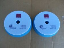 New 2Pack 6 Inch Rupes Blue Foam Coarse Pad for 5 Inch Backing Plate 9BF150H