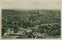 Ansichtskarte Ulm vom Flugzeug aus 1938 (Nr.9195)