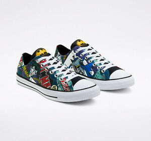 Converse x BATMAN Mens Shoes (NEW) 80th Anniversary JOKER Chucks CTAS Free Ship!
