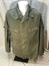Vintage East German Military Field Combat Camouflage Uniform Top Used & Insignia
