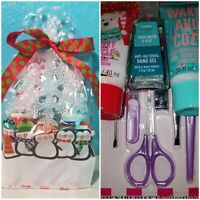 BATH AND BODY WORKS & SIMPLE PLEASURES PENGUINS HAPPY HANDS GIRLS GIFT SET