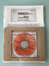Roland Ultimate Keys Expansion SRX-07 Original Manual + NEW SRX-06-09 CD ROM
