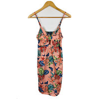 Primark Womens Dress Size 8 Floral Multicoloured Cocktail Party Dress