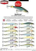 NEW 2019 Rapala RipStop Gamefish Fishing Lure 9cm 7g Various Colours