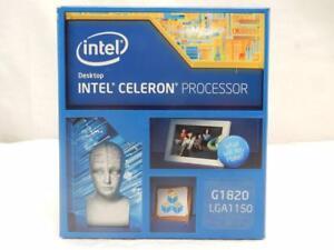 NEW Boxed Intel Celeron G1820 2.7GHz Processor LGA1150 BX80646G1820 NO FAN