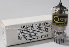 """Z729 EF86 Osram """"D"""" gettet fine mesh anode made in UK Amplitrex tested#926004"""