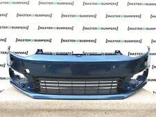 VW Polo 6 C 2014-2016 pare-chocs avant en Bleu Véritable [V292]