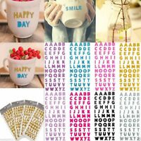 Self Adhesive Stickers Alphabet Letter Decals Home Wall Decoration