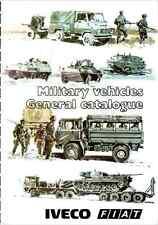 ESERCITO ITALIANO - Veicoli Militari Fiat Iveco 1983 english Scheda tecnica DVD