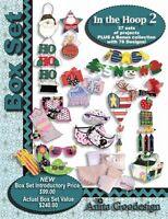 Anita Goodesign PJS IN THE HOOP BOX SET 2 Embroidery Machine Design CD NEW BX007