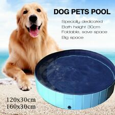 Dog Puppy Pool Pet Bath Swimming Pool Portable Foldable Paddling Bathing Bath