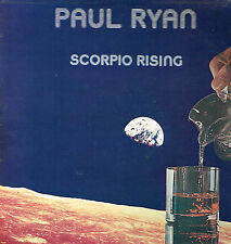 "LP 12"" 30cms: Paul Ryan: scorpio rising. charisma"