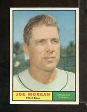 1961 Topps JOE MORGAN #511 Cleveland Indians EXMT (AY29-A)