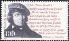 Germany 1991 National Anthem/Music/Composers/Lyrics/Words/People 1v (n45707)