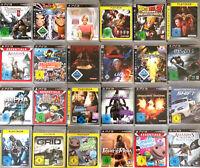 1 SPIEL AUS AUSWAHL WÄHLEN für die Sony Playstation 3 PS 3 - Top Spiel auswählen