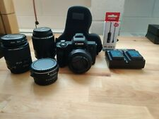 Canon EOS M50 mirrorless digital camera (BUNDLE: 3 lenses + more)
