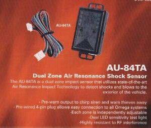 Omega AU-84TA Dual Zone Air Pressure Resonance Shock Sensor PnP most car alarms!