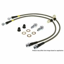 StopTech 950.42012 Front Stainless Steel Braided Brake Hose Kit