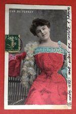 CPA. Artiste EVA DU PERRET. 1907. Ogereau. Déclaration d'amour déguisée...