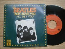 RARE FRENCH BEATLES single:She Loves You/I'll Get You Oldies But Goldies VG++ NM