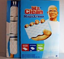 Mr. Clean Magic Eraser 11 Erasers *** 4 Extra-Durable, 3 Kitchen, 4 Bath ***