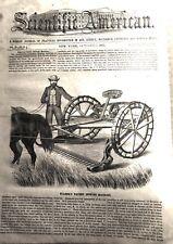 Scientific American Magazine, Vintage issues, 1856 thru' 1899. Sold per issue.