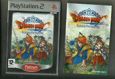 Dragon Quest: el Periplo del Rey Maldito (2006) PS2 Juego-con Manual