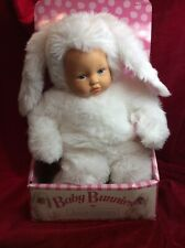 Baby Bunnies By Anne Geddes 15 Inch White Doll Brand New