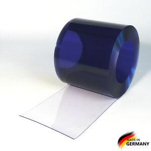 PVC Streifenvorhang Lamellenvorhang Streifen Vorhang 200x2mm kaufen blautranspa