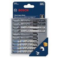 Bosch T5002 10-Piece Assorted T-Shank Jig Saw Blade Set