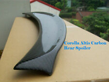 Carbon Rear Trunk Spoiler for Toyota Corolla Altis 3D Type 2009-2010