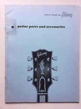 Gibson- RARE- Orig1965 Guitar Parts & Accessories 28pg Price List from Kalamazoo
