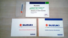Suzuki Swift Libretto Manuale Uso e Manutenzione + allegati 1996 Italiano