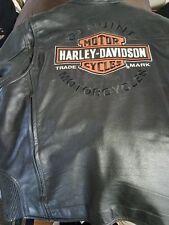 Harley Davidson Leather Jacket Vest XL !MINT!!