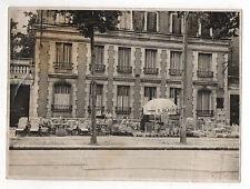 PHOTO ANCIENNE Vannerie B. GLASER Moneteau Siège Fauteuil Panier Vers 1950 Osier