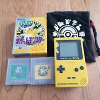 Nintendo Gameboy Light Pokemon Pikachu limited edition console set MGB-101