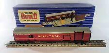 More details for railway t.p.o. mail van set (#32099) hornby dublo (00) gauge rail original box