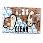 Bearded Collie Dog Dishwasher Magnet Kitchen Cleaning Accessories and Home Decor