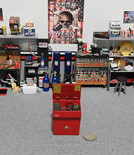 """1:18 """"Toy""""  GMP Tool ( Parts Washer Only ) Red Cabinet for Garage Diorama"""