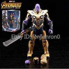 "The Avengers: Endgame Thanos 2019 Marvel 8"" Infinity Gauntlet  Action Figure 099"