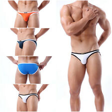 US Stock Men's sexy underwear bikini Briefs Swimwear G-string Jocks Brave Person