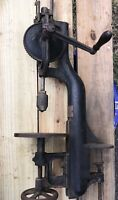 YANKEE No.1005 BENCH MOUNT HAND DRILL PRESS MADE BY NORTH BROTHERS