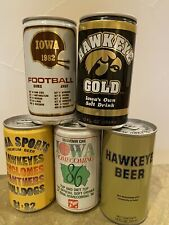 Iowa Sports Soda and Beer Cans