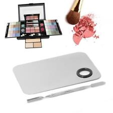 Cosmetic Stainless Steel Makeup Face Palette Spatula Foundation Mixing Tool LD
