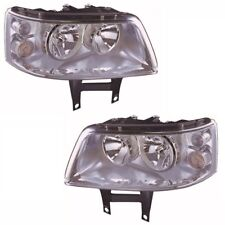 For VW Transporter T5 Inc. Caravelle 2003-4/2010 Headlights Lamps Pair OS NS