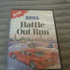 Battle Out Run Sega Master System Spiel